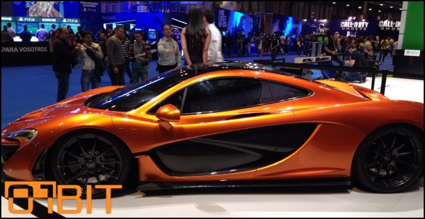 Madrid Games Week Mclaren P1